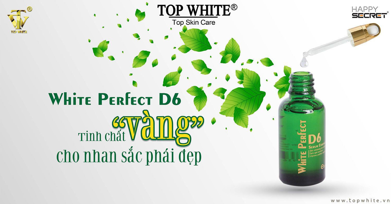 white perfect d6