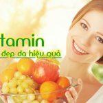 """4 vitamin cho các nàng """"khỏe trong đẹp ngoài"""""""