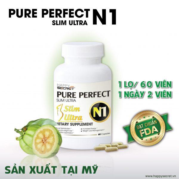 Pure Perfect Slim Ultra N1 Viên uống giảm cân