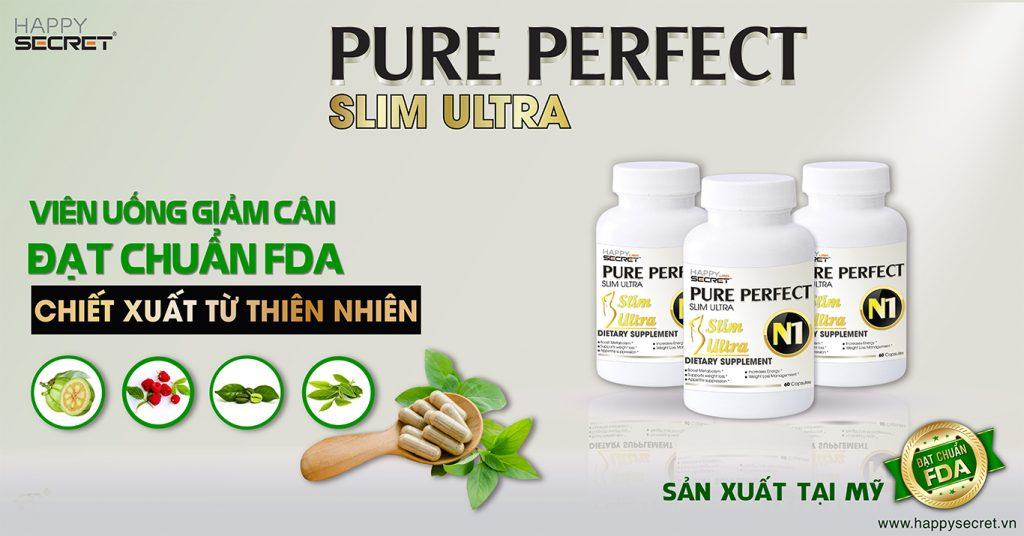 Pure Perfect N1 Viên uống giảm cân hiệu quả