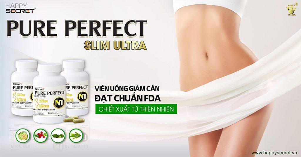 Pure Perfect N1 Viên uống giảm cân nhanh