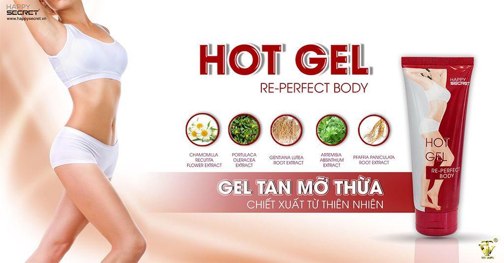 Hot gel tan mỡ top white