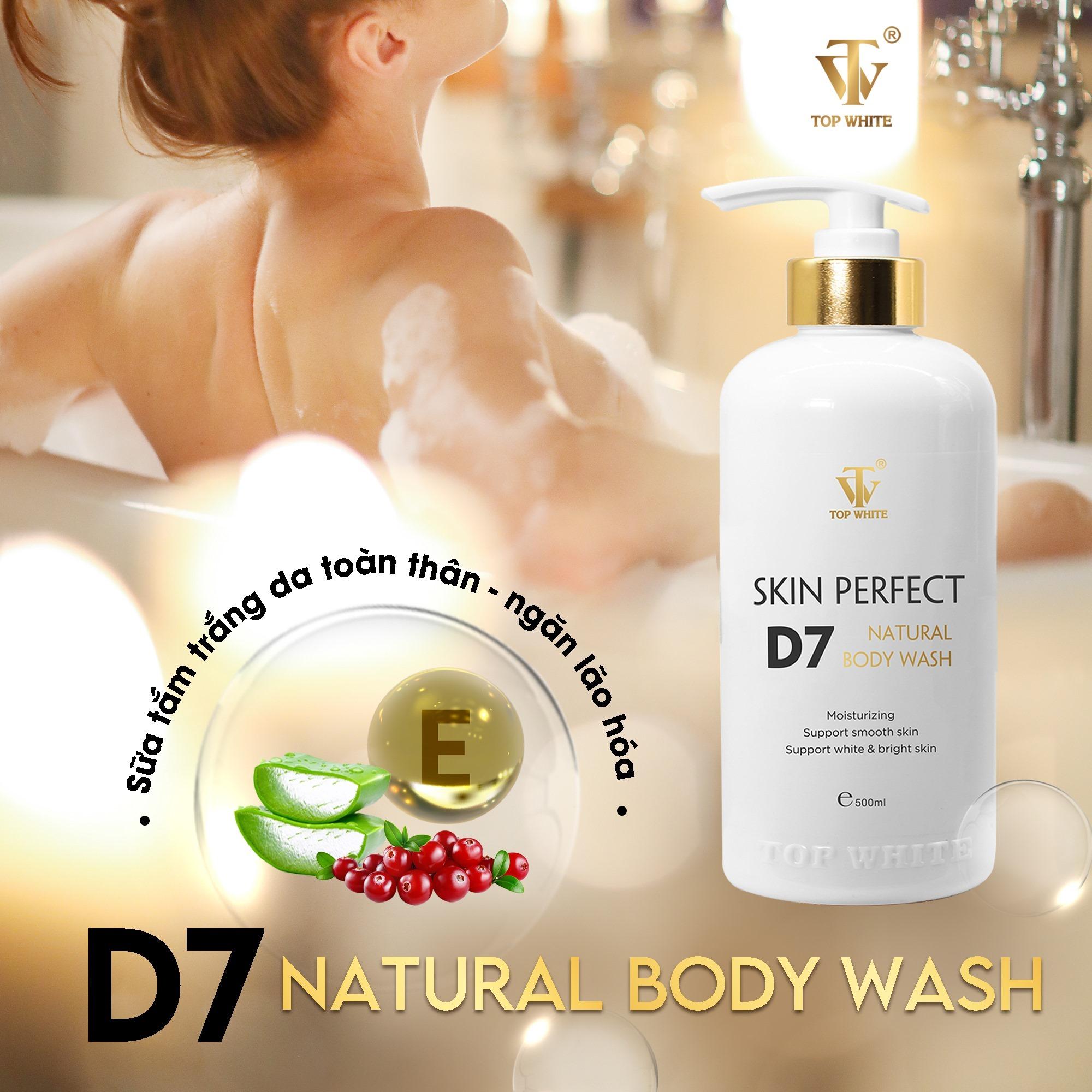 Sữa tắm trắng da Skin Perfect D7