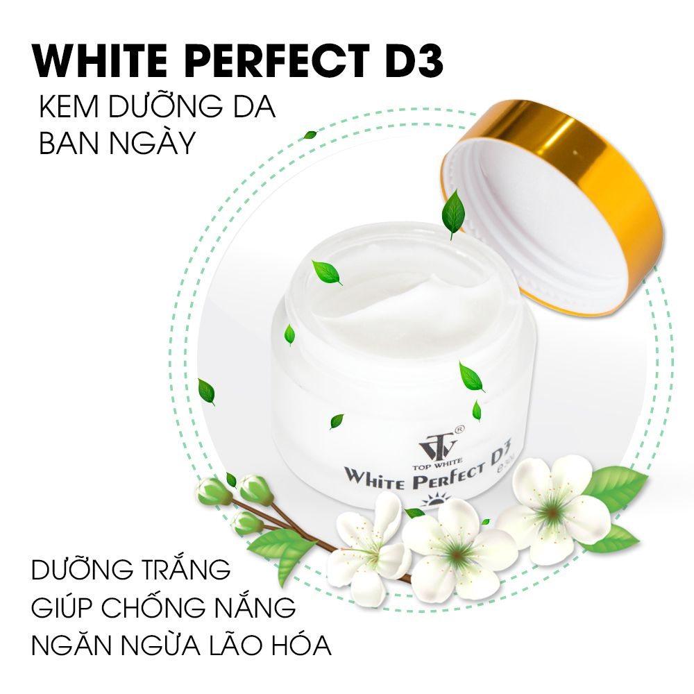 white perfect d3