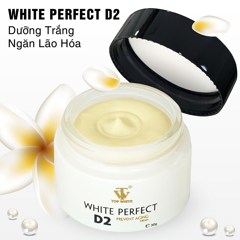 Kem dưỡng trắng da White Perfect D2