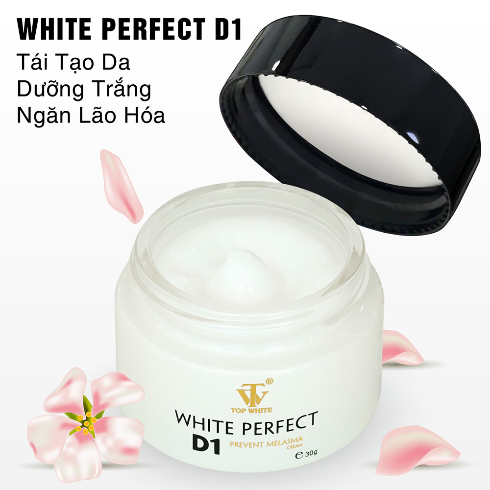 Kem trị nám White Perfect D1