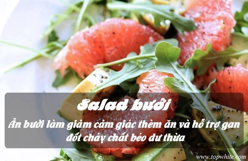 Top White - Thực đơn giảm cân ngày tết bằng salad bưởi
