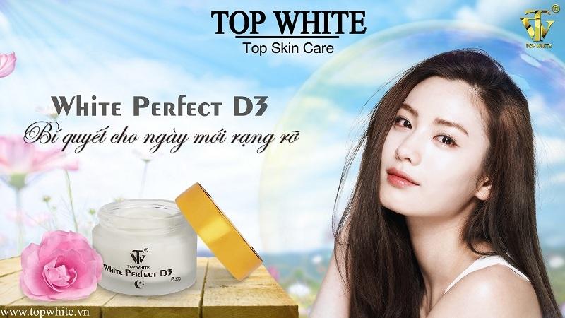 Top White D3 kem chống nắng dưỡng trắng da