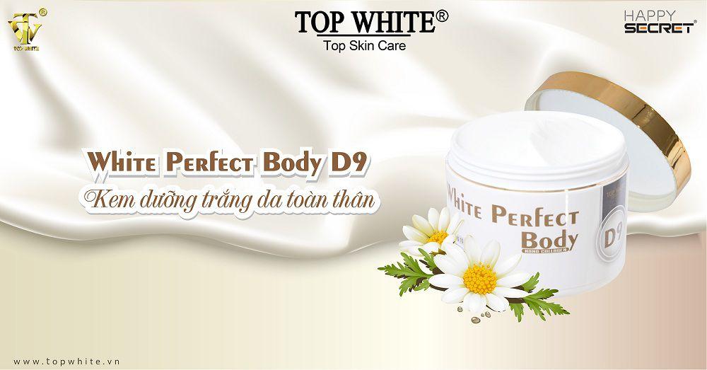 Top White kem dưỡng trắng toàn thân