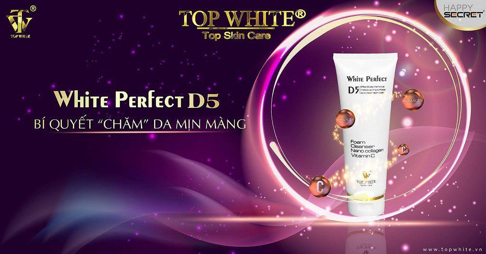 Top White sữa rửa mặt trị mụn