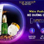 Công thức dưỡng da trắng sáng với 3 bước đến từ Top White