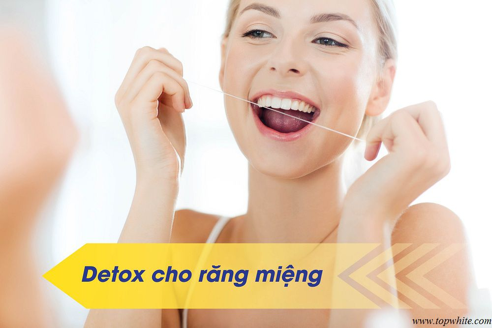 Top White phương pháp detox cho da