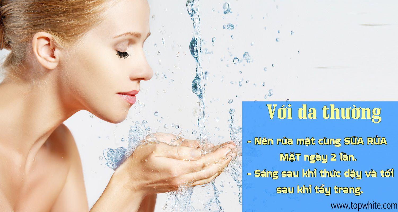 sữa rửa mặt
