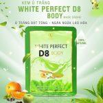 Kem tắm trắng Top White D8 dẫn đầu xu hướng mỹ phẩm trắng da thế hệ mới